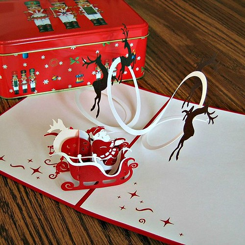 LovePop Pop-Up Christmas Card