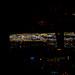 Night approach into Las Vegas