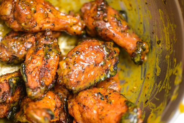 South Carolina Mustard Wings