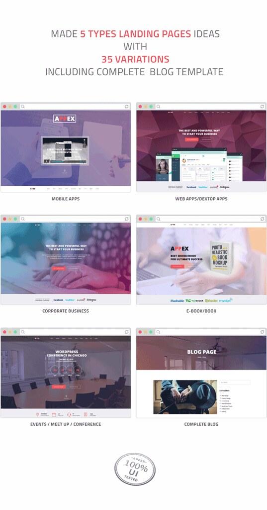 AppEx - Responsive Multi-Purpose Apps Landing Page - 6