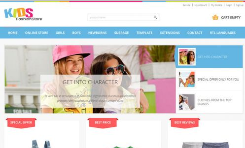 JoomlaMonster JM Kids Fashion VirtueMart Store v1.01 – Joomla Template