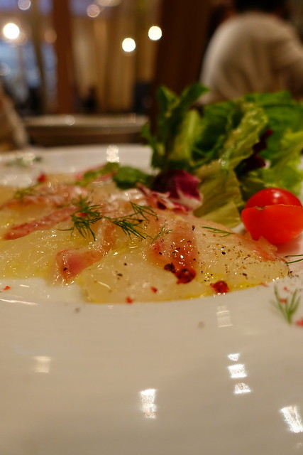 Carpaccio(red snapper)