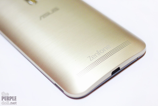 Back Bottom of Zenfone 2 Laser