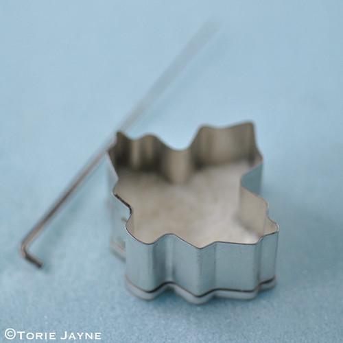 needle felted leaf tutorial 5
