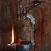 French betty lamp – 18th century by Cavannus