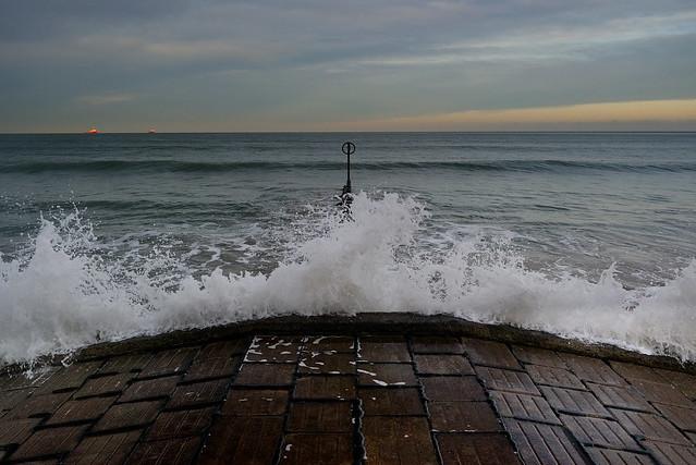 Sea Defences, Aberdeen, Dec 2016