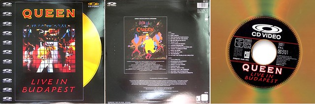 Queen - Live in Budapest [CD Video]