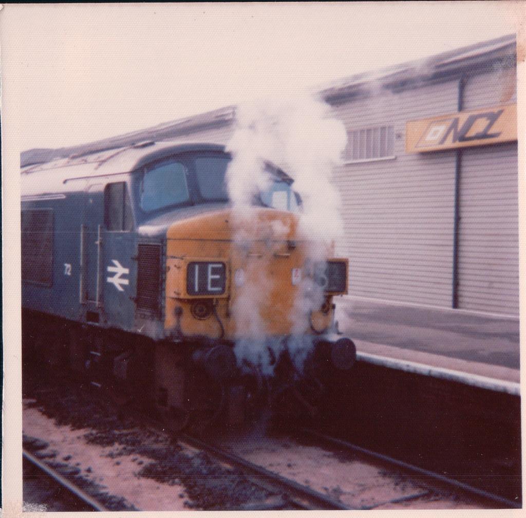 Steamy Peak 72 Exeter aSt Davids 1970s