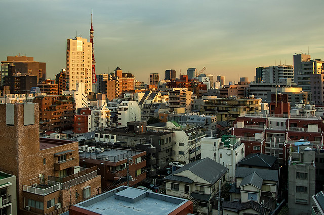 Roppongi roofs