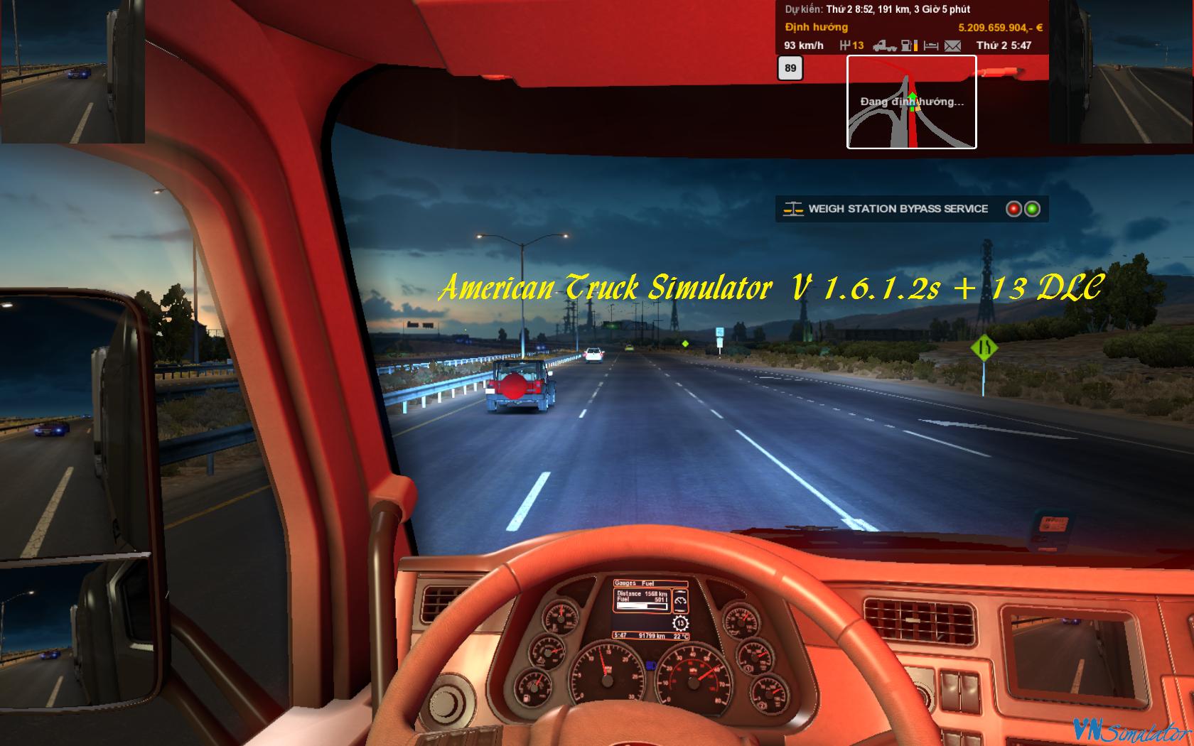 1 6 x - American Truck Simulator V 1 6 1 2s + 13 DLC rar
