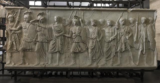 """""""Palazzo della Cancelleria Reliefs"""" II – Frieze A"""