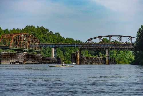 Burton's Ferry Swing Bridge