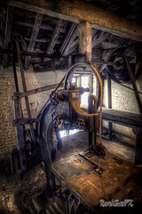 RamiGraFX posted a photo:The Mill at Dunham Massey has been restored by the National Trust. The machinery in it is now running, powered by a waterwheel. The mill was used for machining trees into planks for use on the estate This is an HDR  infrared image useng a modified Canon EOS 5