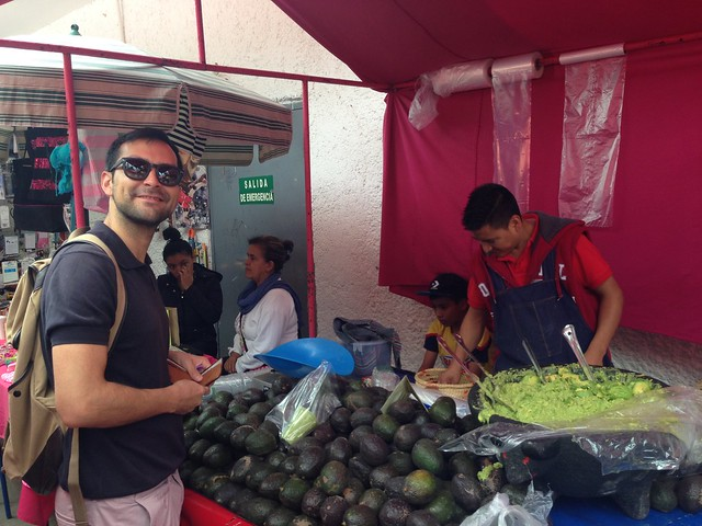 Avocados at Tianguis de Bajío
