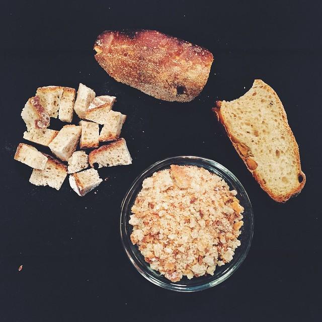Pane raffermo - leftover, stale bread