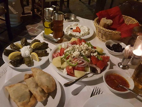 A Greek dinner