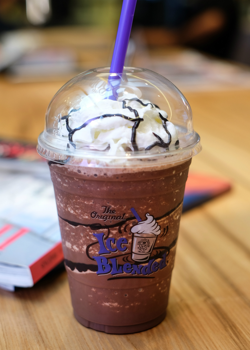 The Coffee Bean Menu: Chocolate Mousse Ice Blended