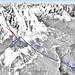 Mapa Cortina d´Ampezzo - Cristallo