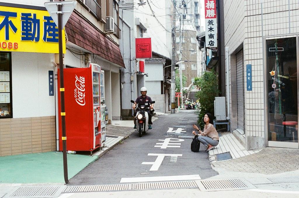 中通り商店街 長崎 Nagasaki 2015/09/08 中通り商店街  Nikon FM2 Nikon AI Nikkor 50mm f/1.4S Kodak UltraMax ISO400 Photo by Toomore
