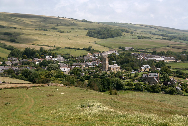 Abbotsbury from St Catherine's Chapel