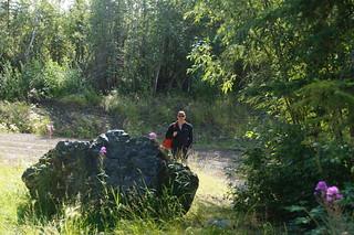 049 Arjan bij Yukon River