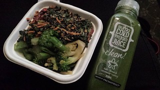 Kale and Quinoa Salad and Spring Green Salad from Sumo Salad