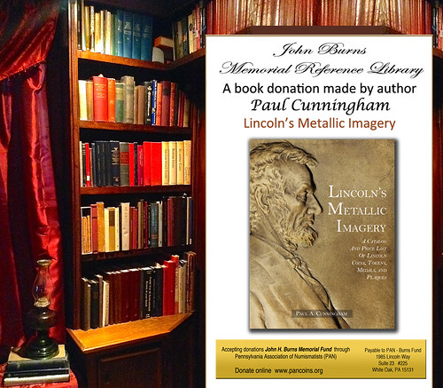 BURNS LIBRARY-Lincolns-Metallic-Imagery-