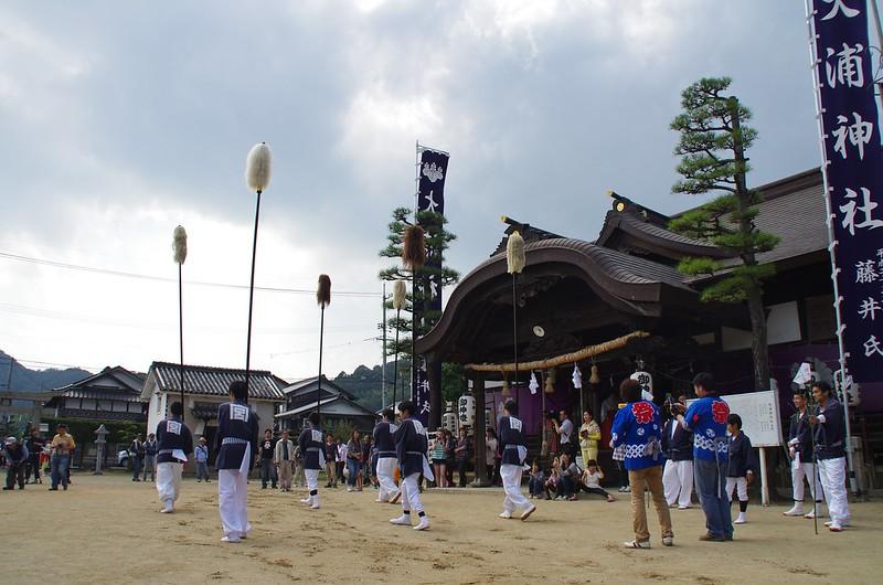 大浦神社(昼競馬) #8
