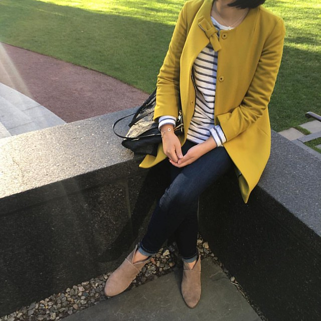 Mustard fall outfit