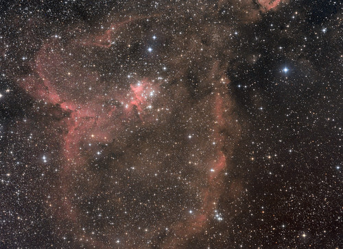 Heart Nebula IC1805,IC1795