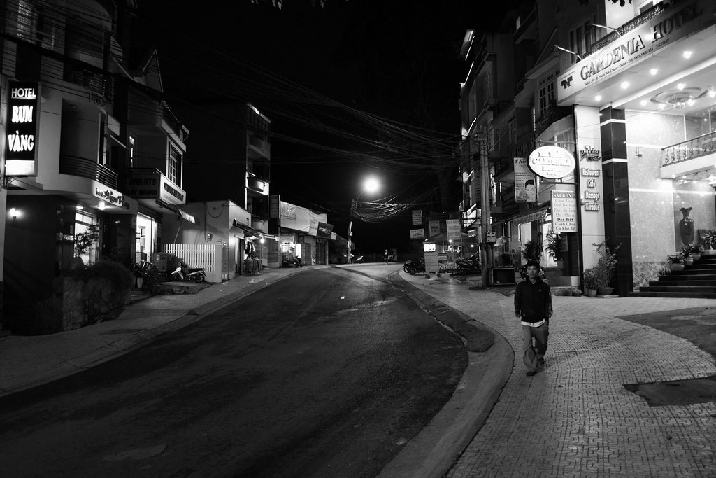 A Lonely Night in Dalat