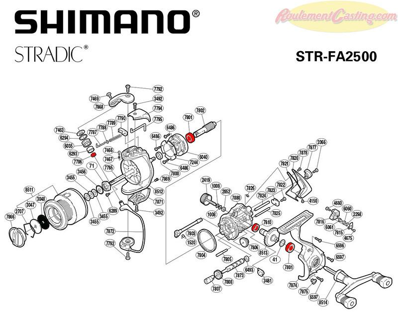 Schema Stradic 2500FA