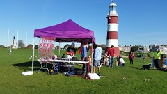 Pride Gazebo Plymouth Hoe - Bring on the Smiles fundraiser