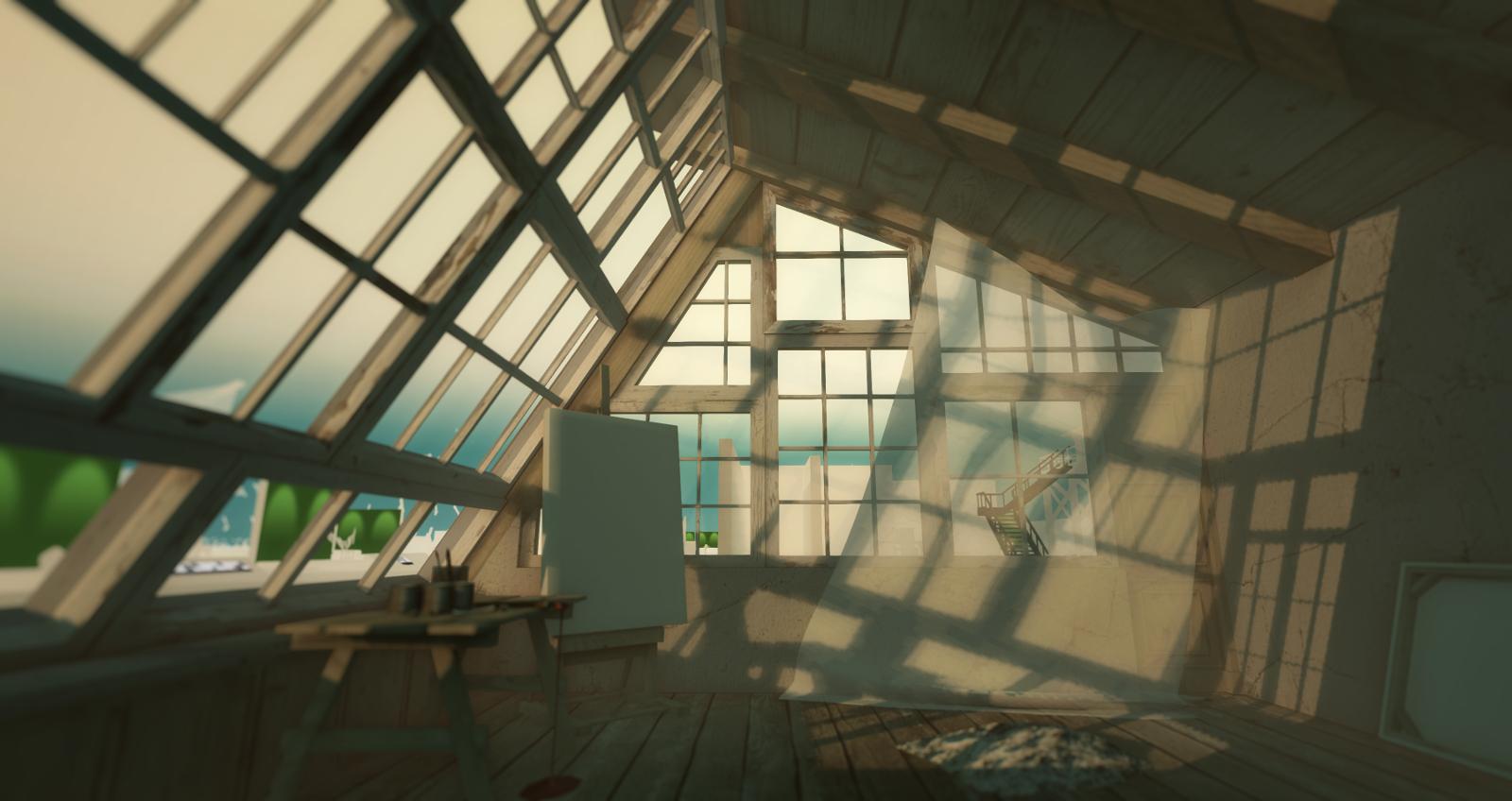 Garden Atelier's interior