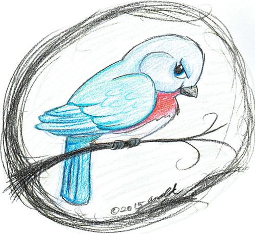 Draw Dinovember 11.1.15 - Beatrice