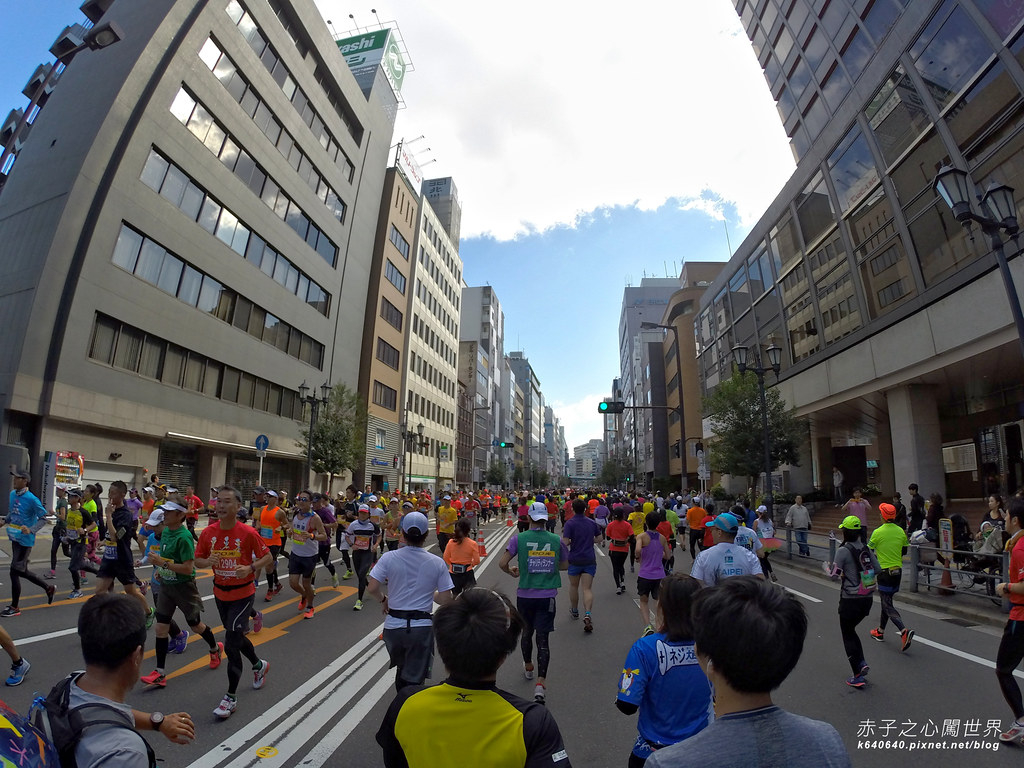 大阪馬拉松-跑步-62