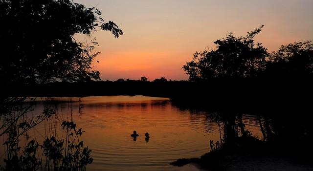 Lago de Tapari, em Santarém. Foto: Wendell Medeiros