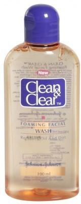 Best Face Wash for oily skin - Clean & Clean Foaming Facial Face Wash