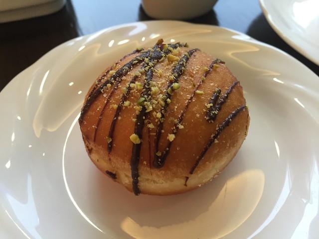 Chocolate pistachio donut - Millennium Seoul Hilton