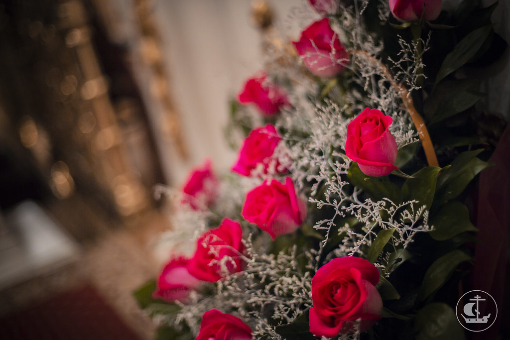 """9 декабря 2015, Всенощное бдение накануне дня празднования в честь иконы Божией Матери """"Знамение"""" / 9 December 2015, Vigil on the eve of the celebration in honor of the icon of the Mother of God """"Of the Sign"""""""