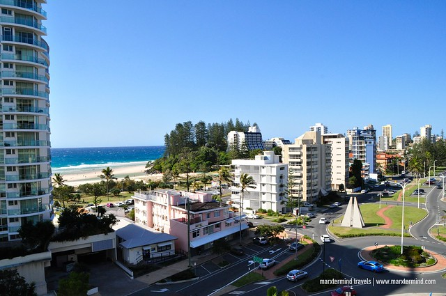 The View from Our Room Mantra Twin Towns Hotel & Apartment Coolangatta