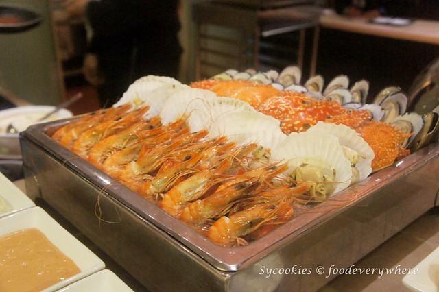 7.Pacific Regency Hotel Suites 2015 Christmas Buffet