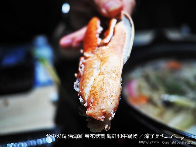 台中火鍋 活海鮮 春花秋實 海鮮和牛鍋物 107
