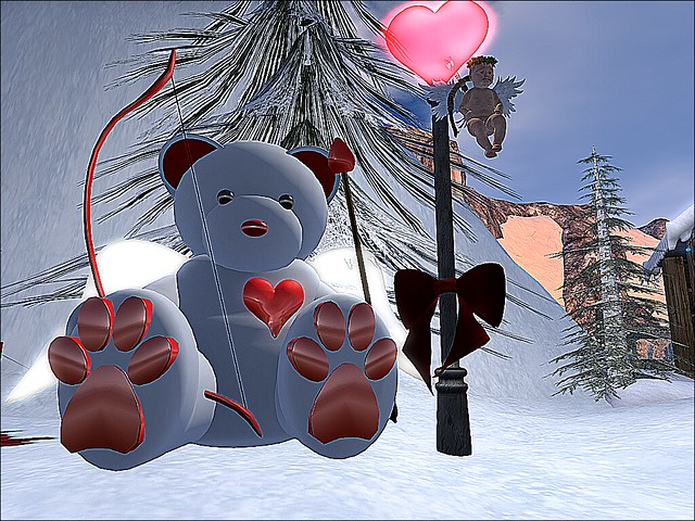 Valentine On Ice - Cupid & the Bear