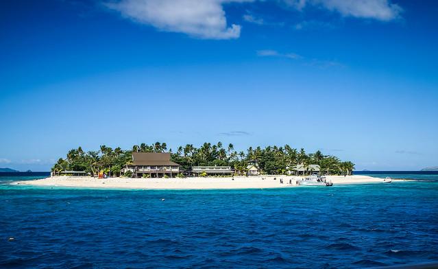 Beach comper island