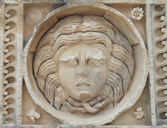 Carved Medusa, Myra