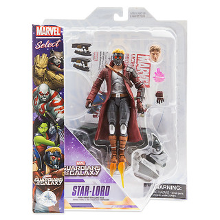 Marvel Select【星際異攻隊:星爵彼得.傑森.奎爾】Guardians of the Galaxy Star-Lord 7 吋可動人偶作品
