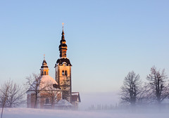 Saint Trinity church in Vinji vrh