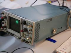 Bristol Hackspace: Tektronix 464 Storage Oscilloscope