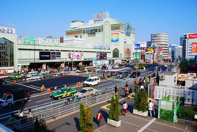 Tokyo, Shinjuku - Shinjuku Terminal.